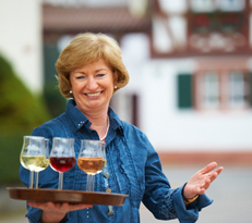 Roswitha Pitthan - die gute Seele im Weingut Pitthan