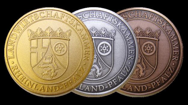 Kammerpreismünzen Rheinland-Pfalz