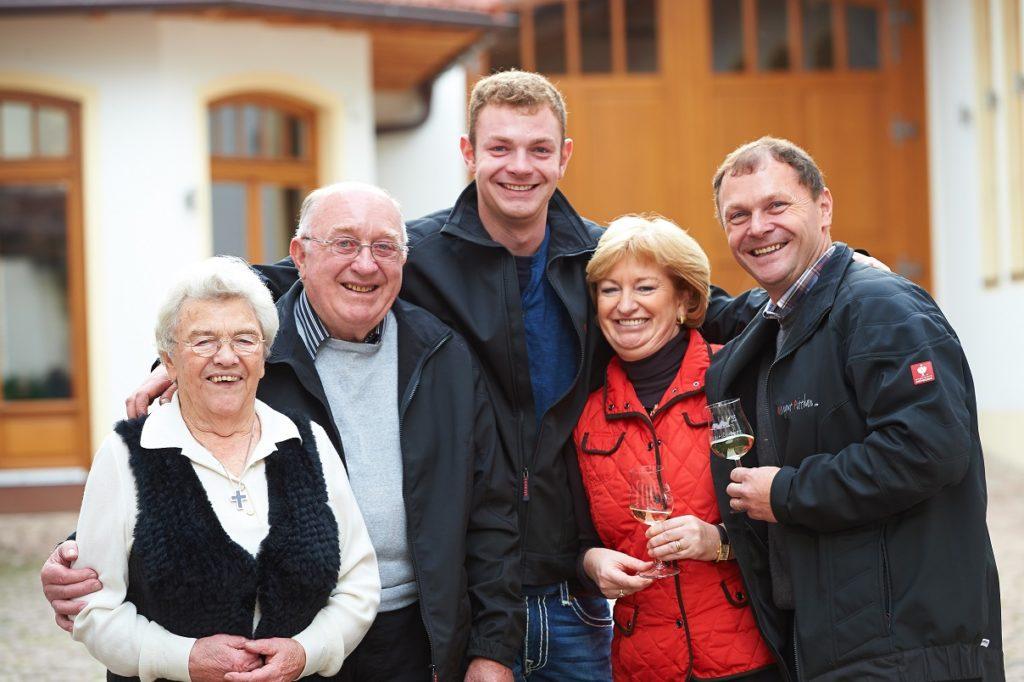 Die Familie Pitthan ist das Herz des Weinguts