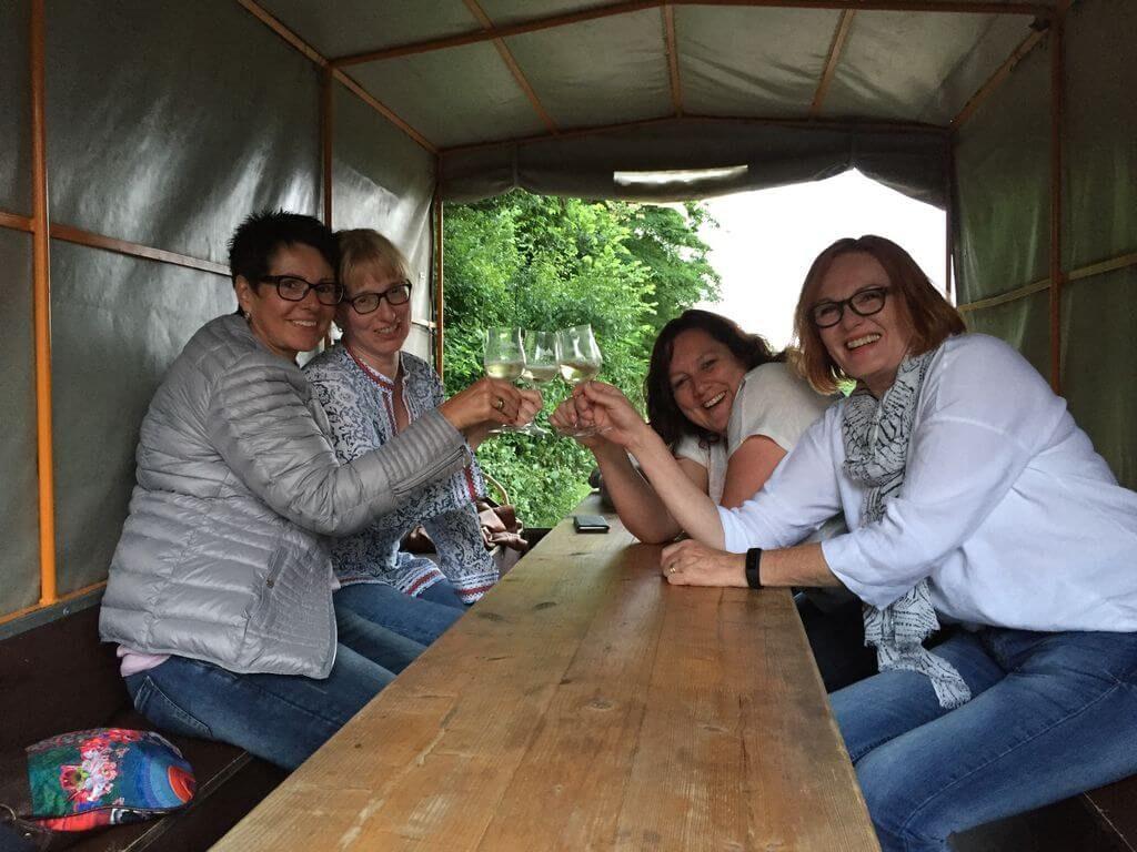 Im Planwagen durch Rheinhessen