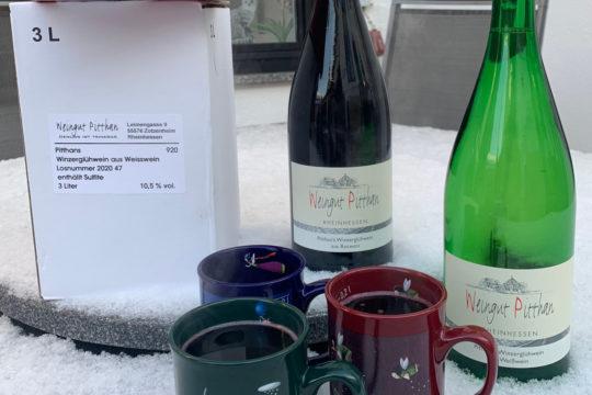 Glühwein für kalte Wintertage - Weingut Pitthan